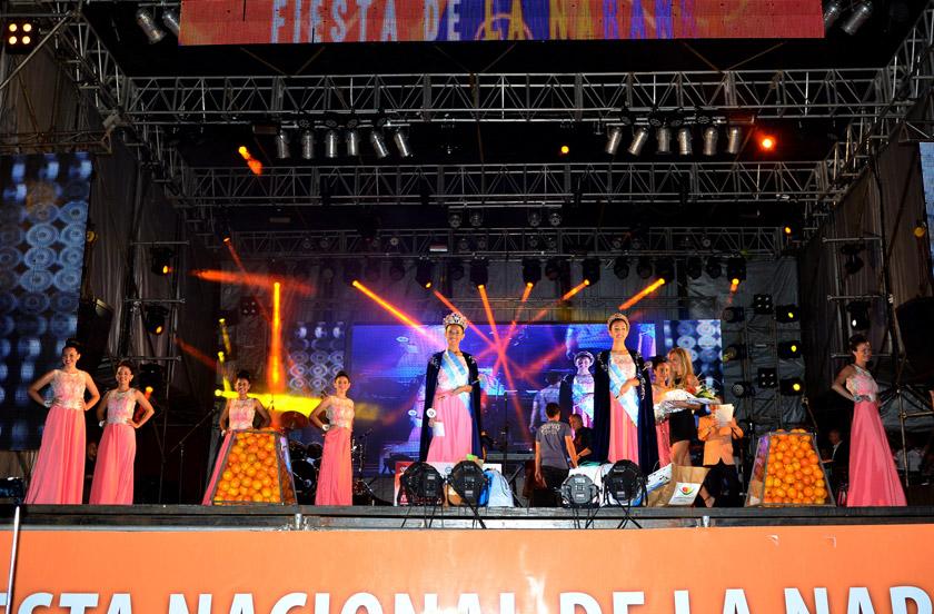 Malena Cueva es la nueva Reina Nacional de la Naranja