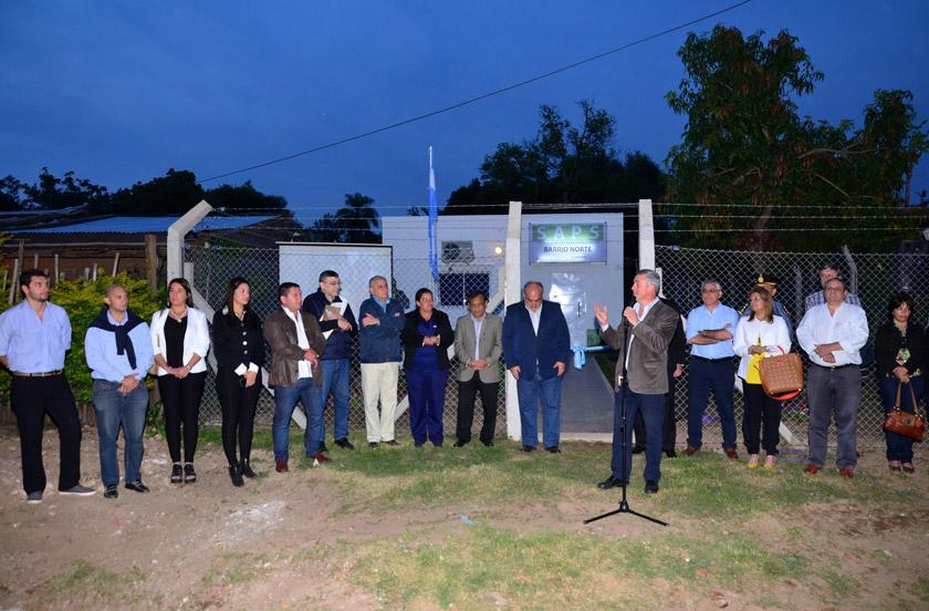 Chavez y Colombi inauguraron la SAPS de Barrio Norte