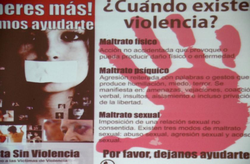 Adhesión al Día Internacional contra la Violencia hacia la Mujer