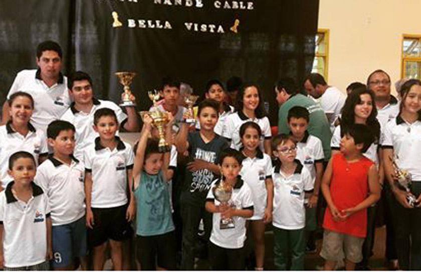 Mas de 150 chicos en el Interprovincial de Ajedrez de Bella Vista
