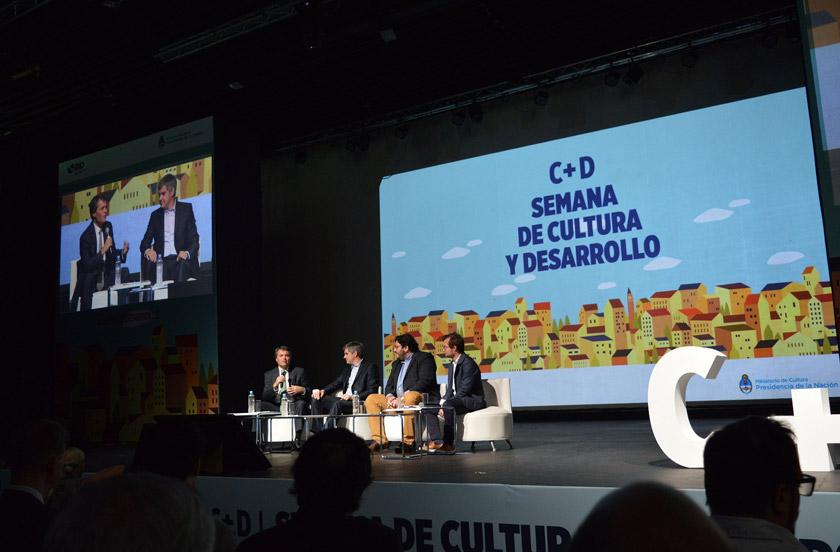 Referente cultural bellavistense en el C+D Internacional