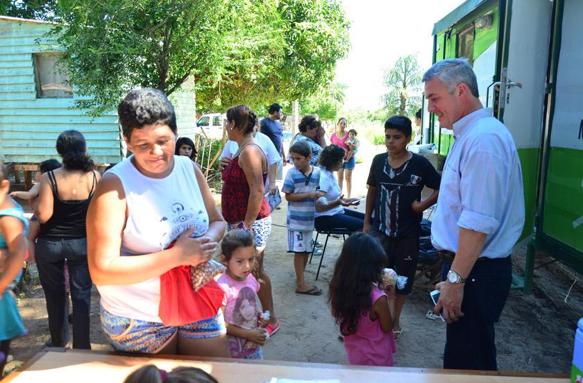 Operativos municipales en el Barrio 15 Viviendas