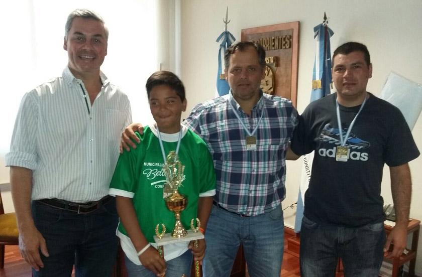 Unión presentó su 4º puesto en el Mundialito de Córdoba