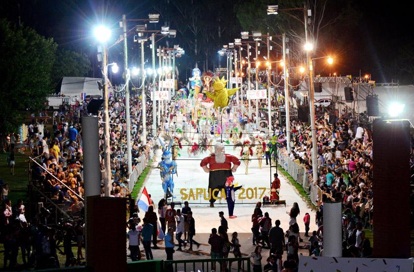 Satisfacción por el debut de los Carnavales de Bella Vista