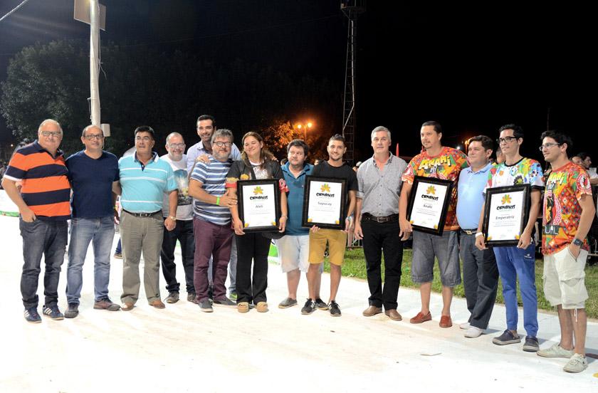 Chavez inauguró las nuevas instalaciones del Corsódromo