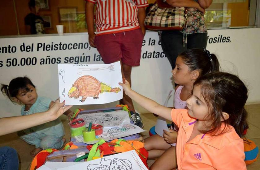Más de 100 niños por semana visitan el Paleomuseo Toropí