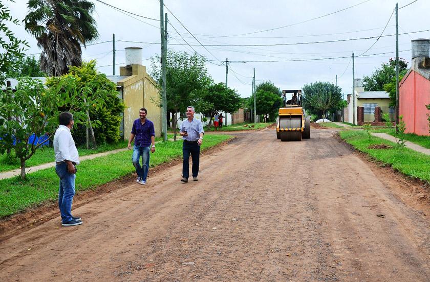 Mejoramiento de calles para la zona sur
