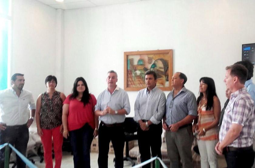 Chavez recibió a funcionarios del Plan Belgrano