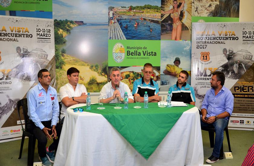 Presentaron el Motoencuentro Internacional y MX Correntino Nocturno