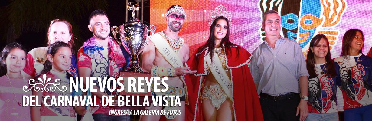 Nuevos Reyes del Carnaval de Bella Vista