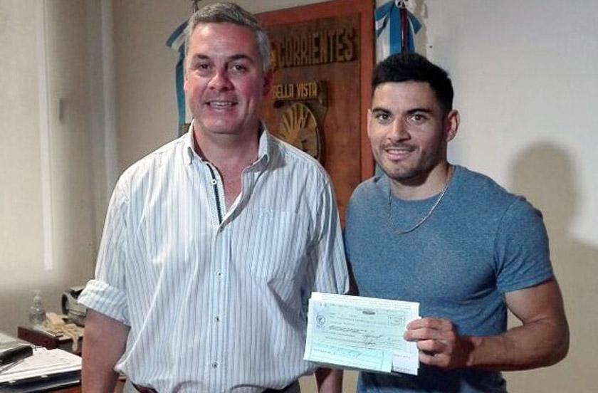 Matías Robledo inicia una gira por España