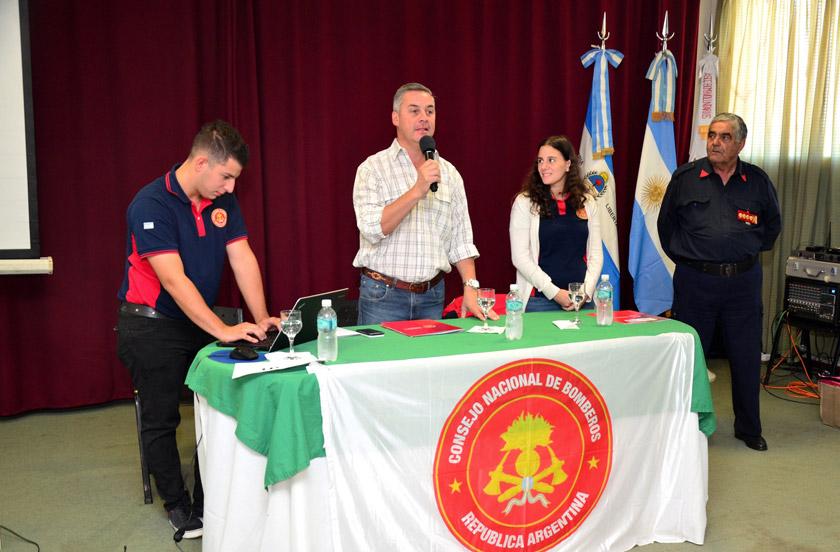Bella Vista recibe a 18 delegaciones de Bomberos Voluntarios