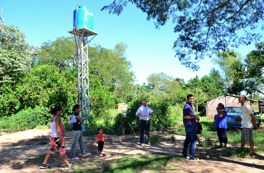 El gobierno de Bella Vista con mejoras en Carrizal Norte