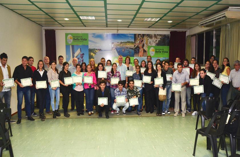Entregaron certificados del Curso de Portugués