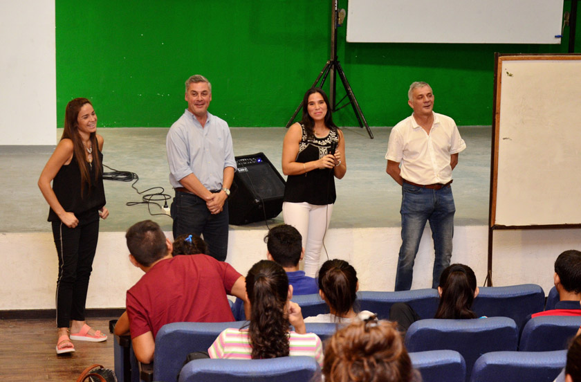 Chavez abrió la 2º cohorte de la Licenciatura en Educación Física