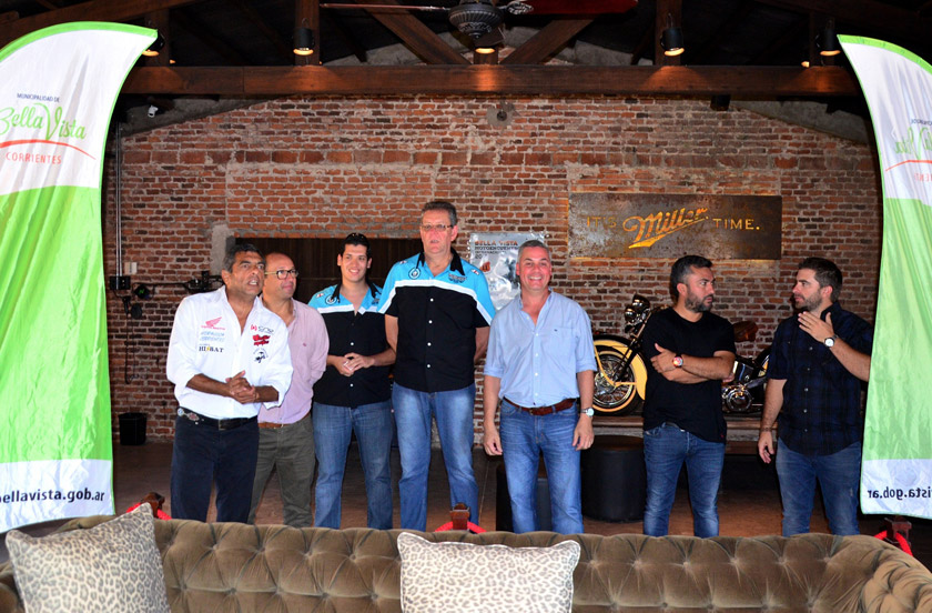 Bella Vista presentó en Corrientes el Motoencuentro y MX Correntino