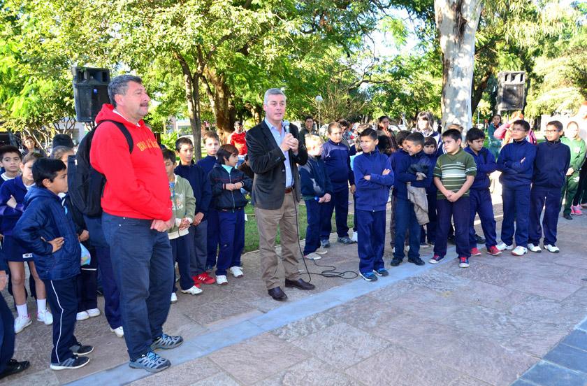 Nueva visita del Colegio San Agustín de Buenos Aires