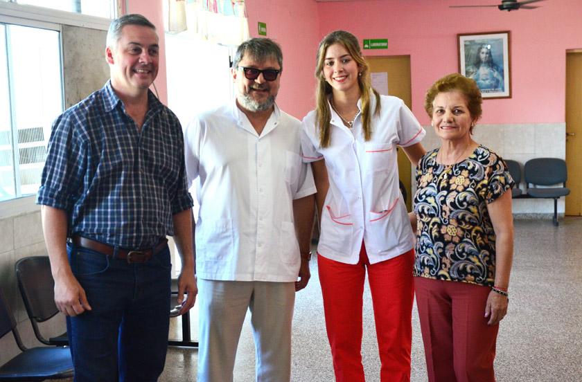 Bella Vista refuerza sus equipos sanitarios