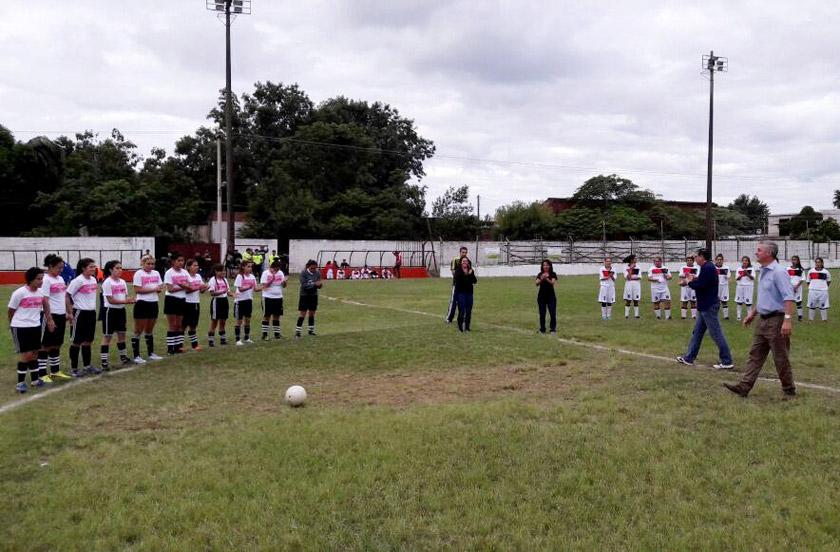 Comenzó el 1º campeonato de Liga de Fútbol Femenino