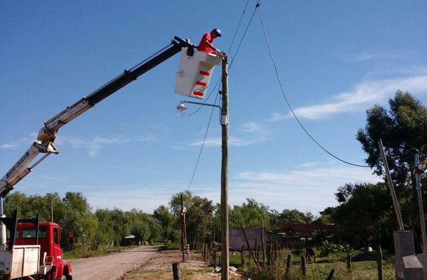 El municipio destacó el trabajo en iluminación pública