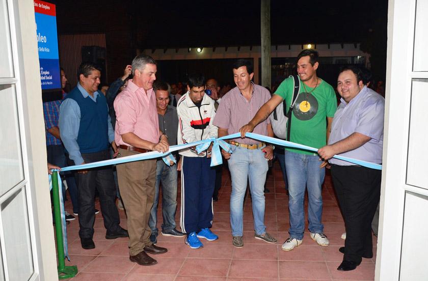 Bella Vista inauguró edificio para Oficina de Empleo