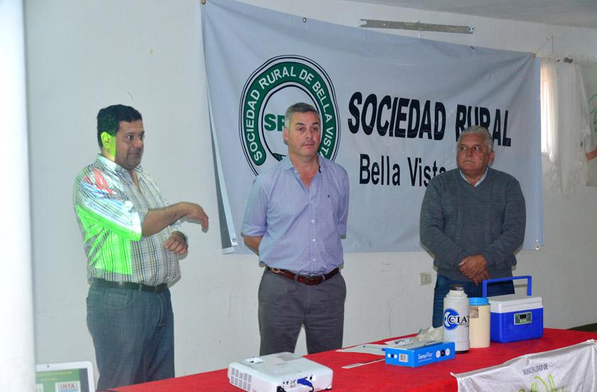 Intensa agenda del intendente de Bella Vista