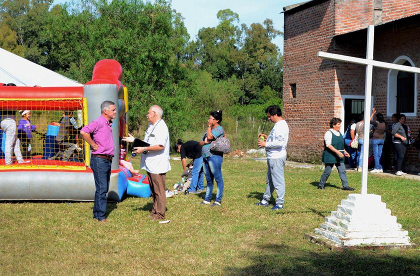 El gobierno de Bella Vista con asistencias urbanas y rurales