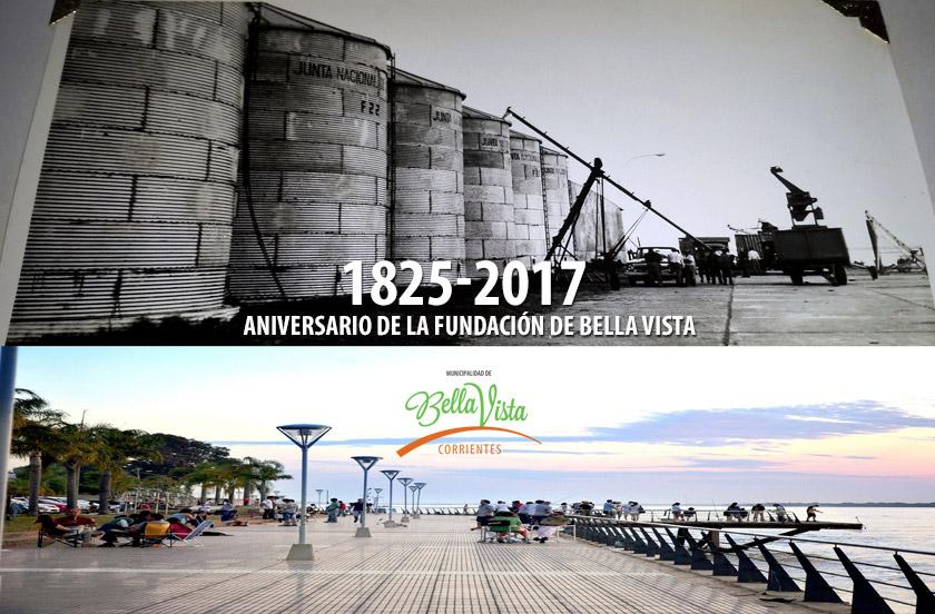 Programa del 192º aniversario de fundación de Bella Vista