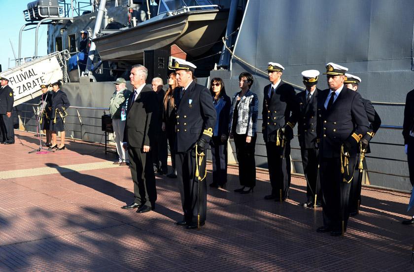 El A.R.A Ciudad de Zárate celebró el Día de la Armada en Bella Vista