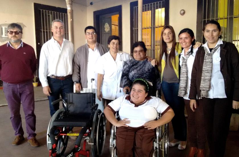 Chavez visitó la Escuela Nº 17