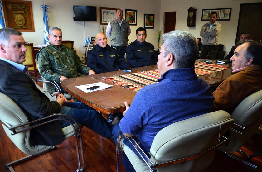 Chavez y Ortega con definciones para la seguridad pública