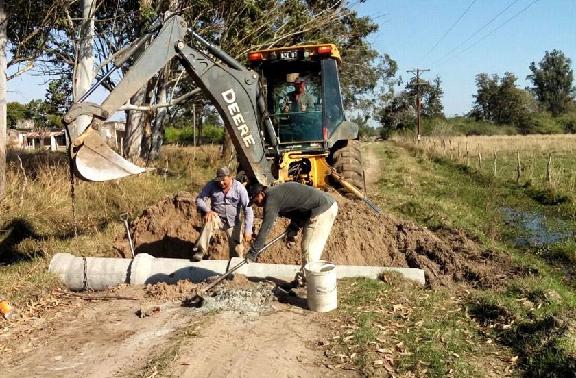 El municipio redobla esfuerzos en obras rurales