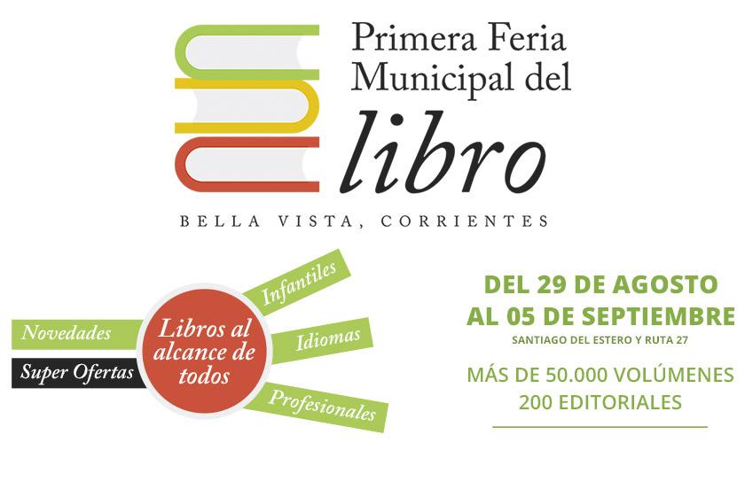 Arranca la 1º Feria Municipal del Libro en Bella Vista