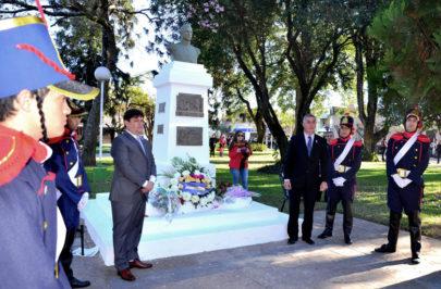 Honras bellavistenses al General San Martín