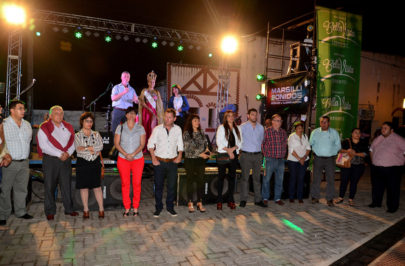 Chavez inauguró el Paseo de los Artesanos