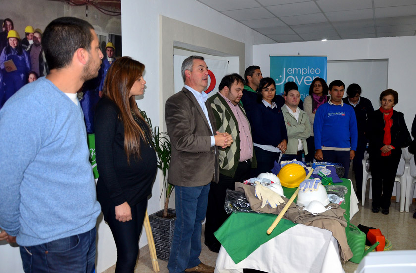 Bella Vista pionera en inclusión laboral de jovenes especiales