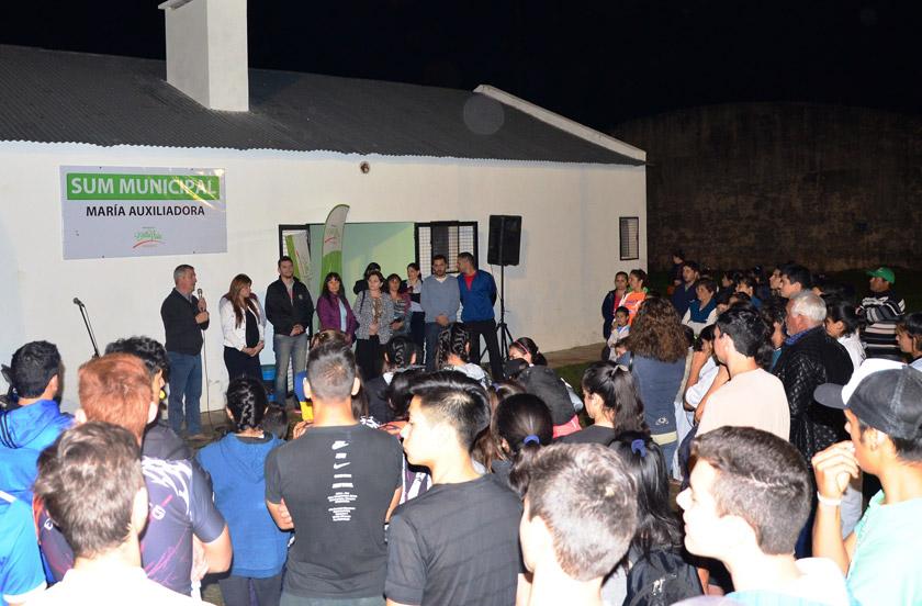 Nuevas instalaciones y actividades en el SUM María Auxiliadora