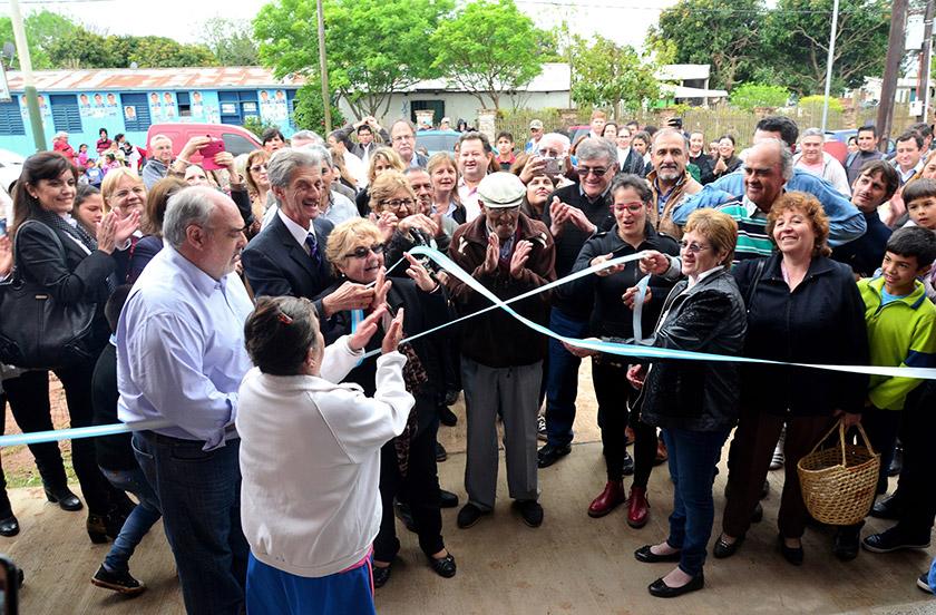 Tres de Abril inauguró su edificio de gobierno