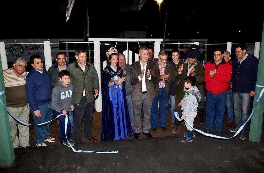 Inauguraron la 1º Exposoción Rural de Bella Vista