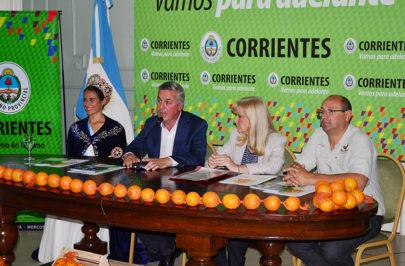 Bella Vista presentó al país su fiesta de la naranja