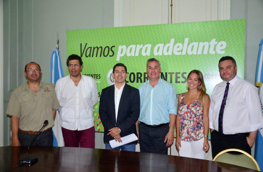 Bellavistenses presentaron la temporada de verano en Corrientes