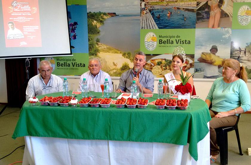 Anticipan oficialmente la IV Fiesta de la Frutilla