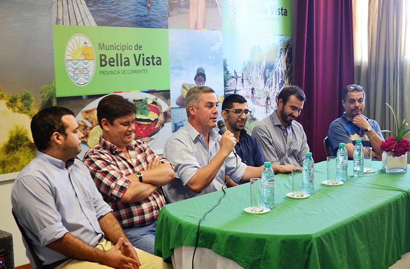 Intendente de Bella Vista presentó su nuevo gabinete