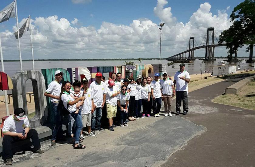 Chicos del Sin Barreras realizan experiencia en Corrientes