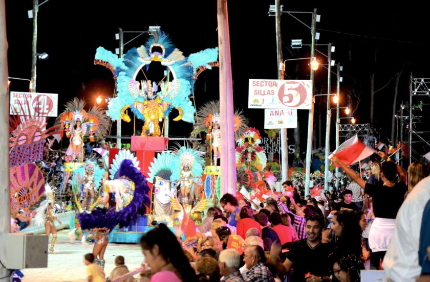 Falta una semana para los Carnavales de Bella Vista