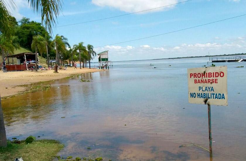 Implementan medidas especiales por la crecida del Paraná