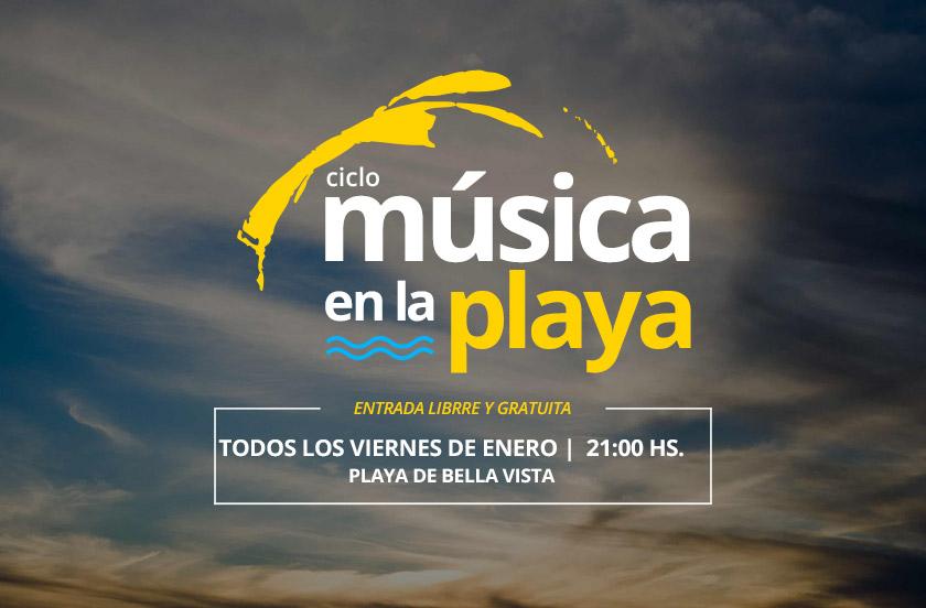 Comienza el ciclo Música en la Playa 2018