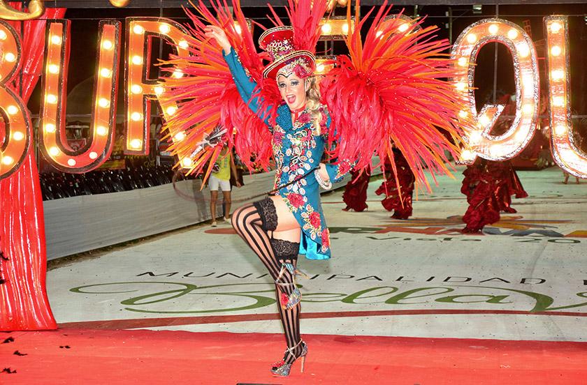 Bella Vista deslumbra con sus Carnavales Oficiales
