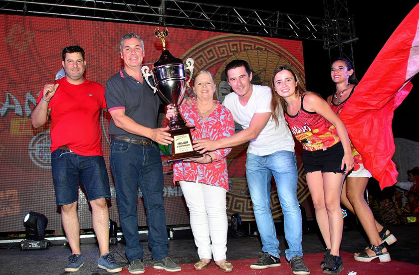 Premios y festejos de los carnavales bellavistenses