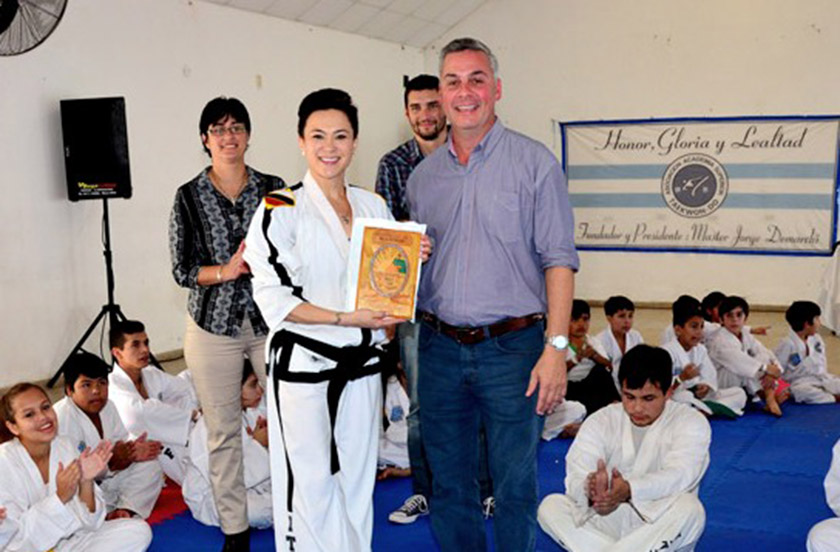Confirman evento internacional de Taekwondo
